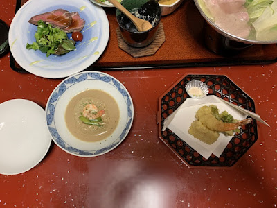 有田屋旅館の夕食その2