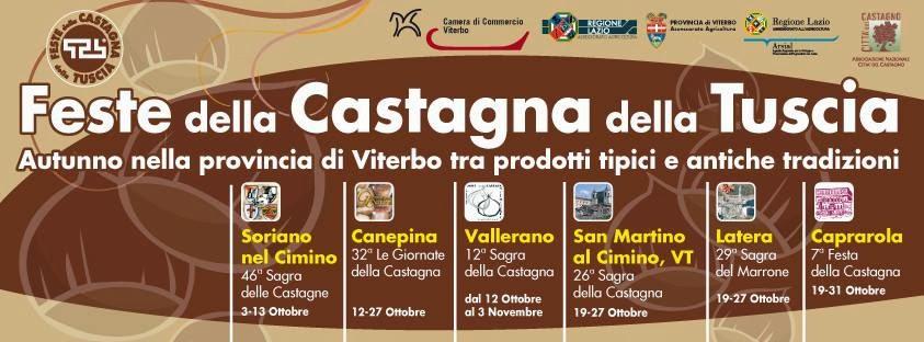 Chestnut sagre in Lazio ~ Lazio Explorer