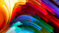 Abstract Colors mobile wallpaper