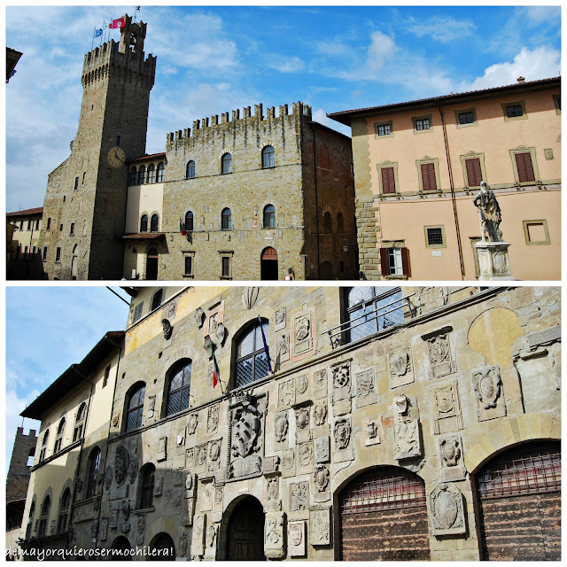 Arezzo, la Toscana