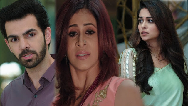 Fight : Sonakshi refuses to go away Rohit's fit of anger in Kahaan Hum Kahaan Tum