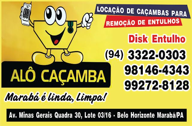 ALÔ CASAMBA -- LOCAÇÃO DE CACAMBA PARA ENTULHOS EM GERAL