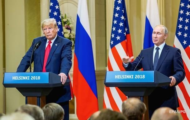 Трамп і Путін обговорили Донбас і Крим