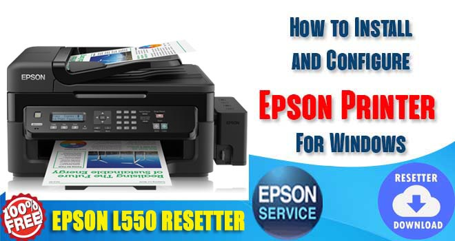 Epson L550 Adjustment Program