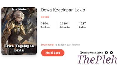 Novel Iblis Kegelapan Lexia