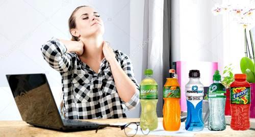 Una mujer que no practica deportes también puede tomar bebidas con minerales electrolitos