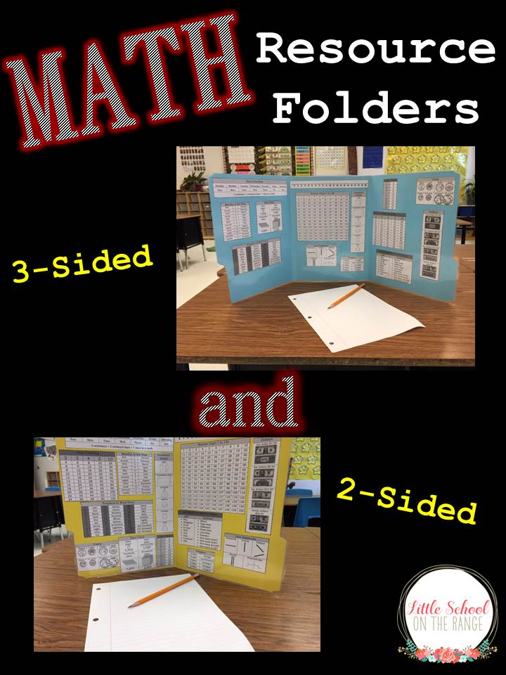 Little School on the Range: Math Resource Folders