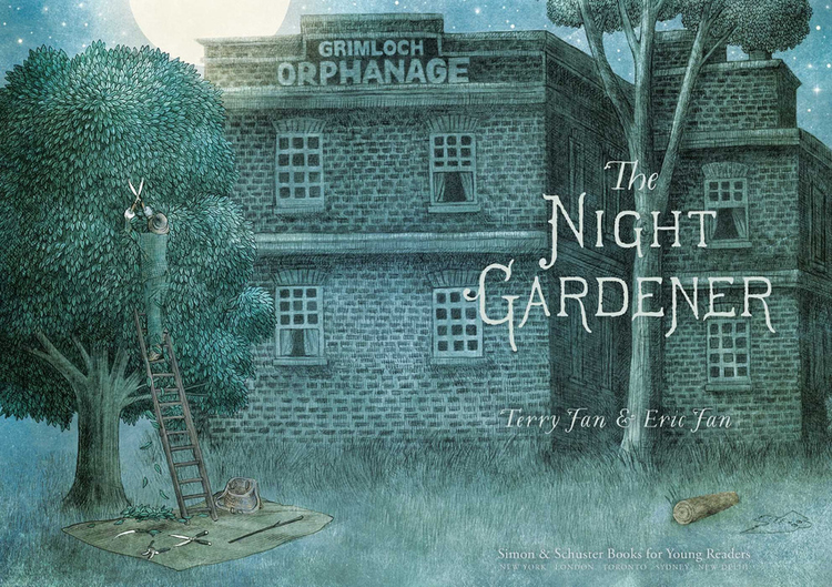 The Jade Sphinx: The Night Gardener, by The Fan Brothers (2016)