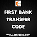 First Bank Transfer Code - First Bank USSD Code