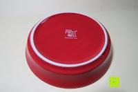 Untersetzer unten: Porzellan Teekannenservice von Original First Tea (Rot)