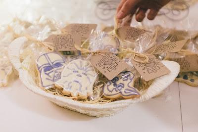 Mesas de dulces para bodas galletas tar wars