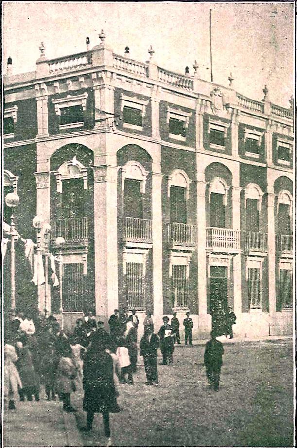 El sayon la sucursal del banco de espa a en ciudad real for Sucursales banco espana