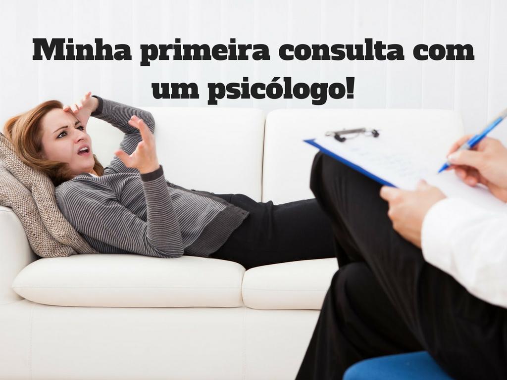 Como é a primeira consulta com um psicólogo?