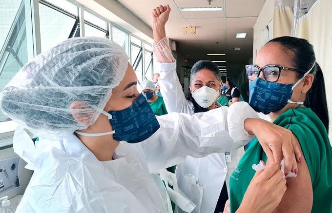Hospital Regional do Cariri inicia vacinação