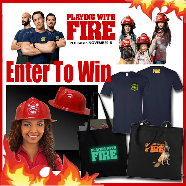 #PlayingWithFireMovie In Theaters November 8th + Giveaway
