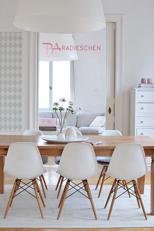 fantas tisch fr hlings jause. Black Bedroom Furniture Sets. Home Design Ideas