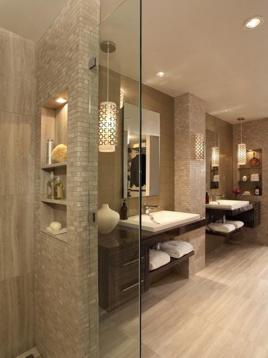 Hogares frescos c mo renovar y dise ar los cuartos de - Lo ultimo en cuartos de bano ...