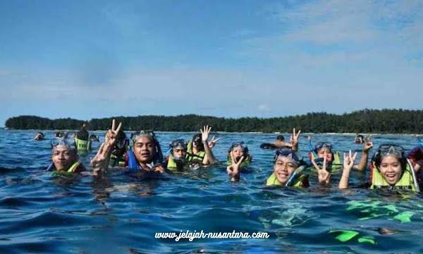 aktivitas wisata private trip pulau pari