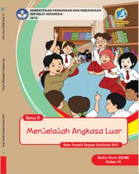 Buku tema 9 Guru Kelas 6 k13 2018