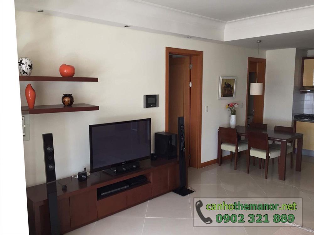 The Manor 1 Ho Chi Minh cho thuê căn hộ 2 phòng ngủ - hình 5