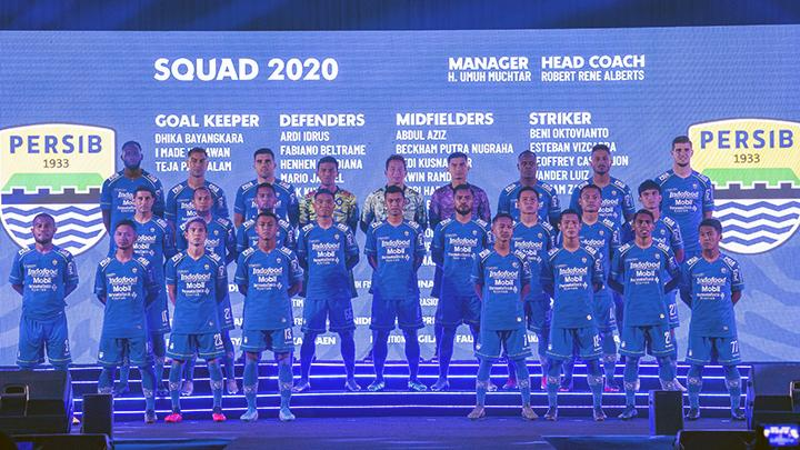 Jadwal Lengkap Persib Bandung di Shopee Liga 1 2020