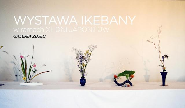 Wystawa Ikebany (XII Dni Japonii na UW)