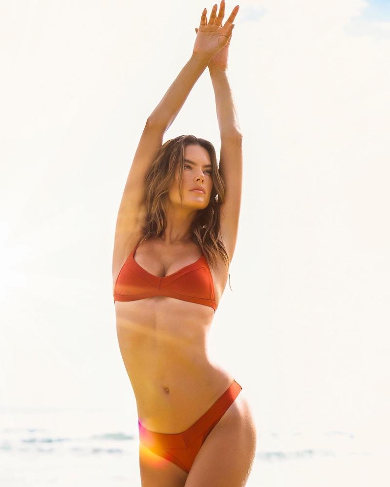 Alessandra Ambrosio poses for Gal Floripa 2020 campaign