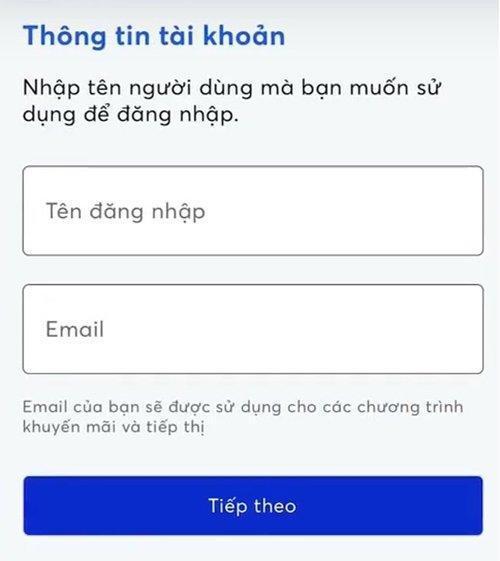 Hướng dẫn đăng ký mở tài khoản ngân hàng online