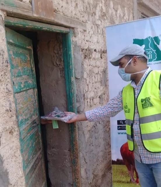 توزيع لحوم على 30 ألف أسرة خلال أيام عيد الأضحى بسوهاج