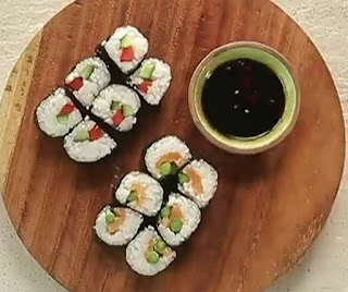 How to make sushi step by step