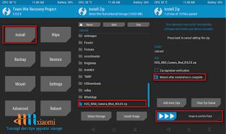 install mod camera 4a