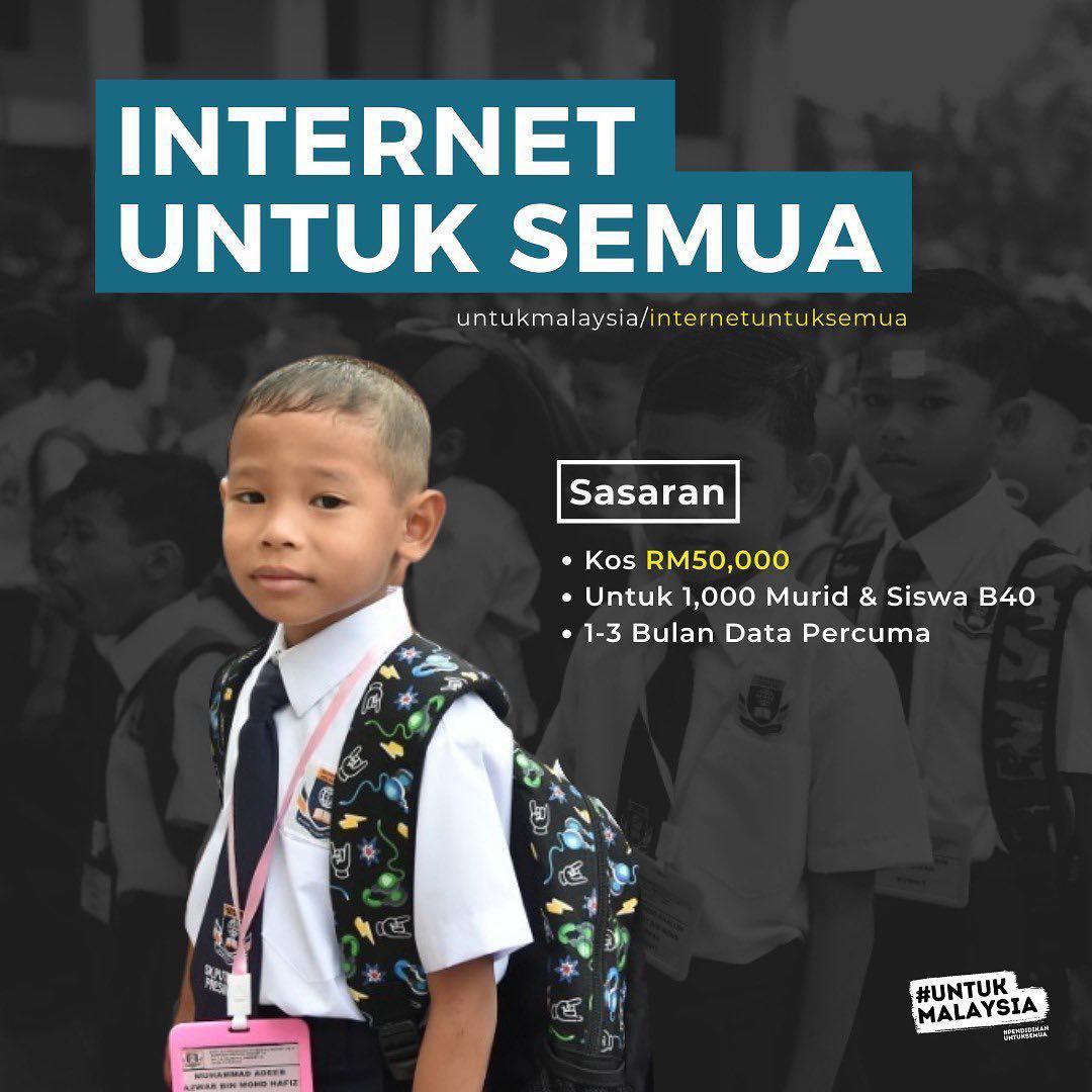 Kempen #InternetUntukSemua Dah Boleh Mohon Sekarang