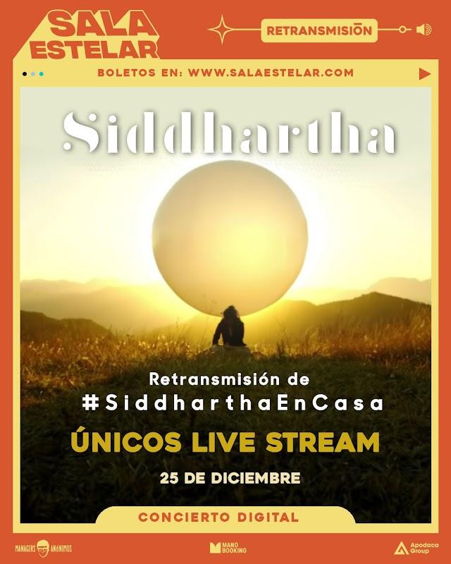 Siddhartha y Sabino retransmitirán su show de Sala Estelar