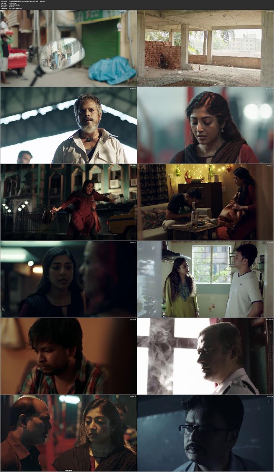 Kaali 2020 WEBRip 1.6GB Hindi S01 Complete Download 720p