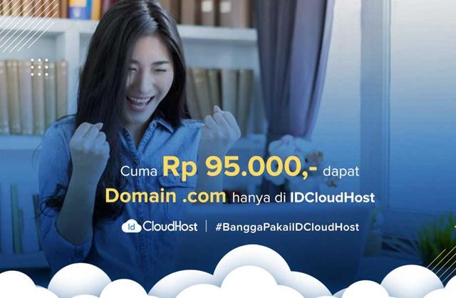 Promo Domain Murah Idcloudhost Oktober 2019 - idcloudhost.com