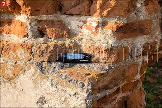 Замер радиации на руинах