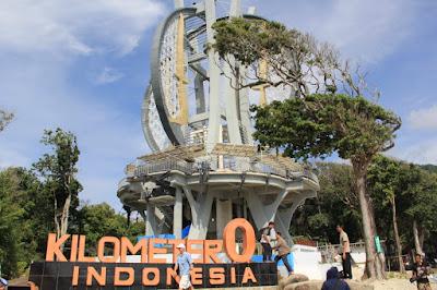 Tugu Kilometer Nol Indonesia di Pulau Weh, Banda Aceh