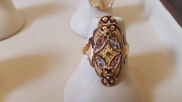 latest gold ring design 22 carat gold
