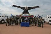 Berikan Rasa Aman Warga, Satgas TNI RDB Kembali Peroleh 2 Pucuk Senjata
