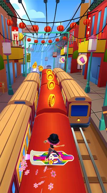 تحميل لعبة صب واي Subway Surfers للايفون