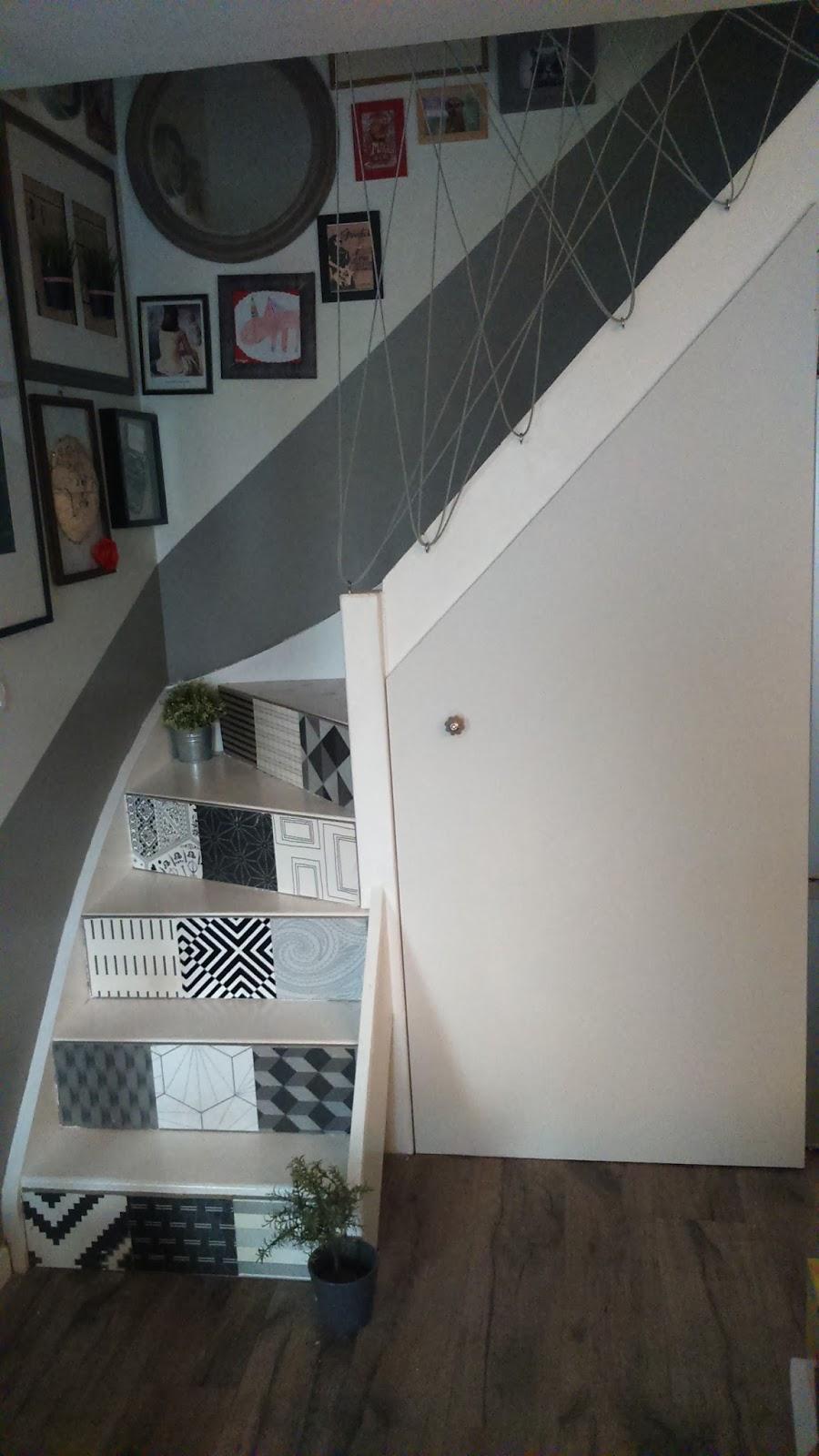 Rambarde escalier originale with rambarde escalier originale une rambarde originale pour les - Rambarde escalier originale ...