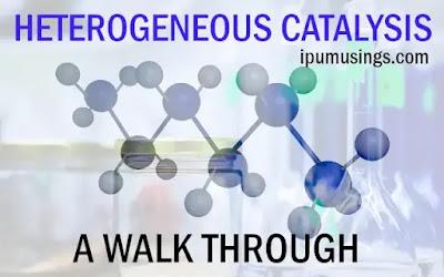 HETEROGENEOUS CATALYSIS - A WALK THROUGH (#ipumusings)(#catalysis)(#chemistry)
