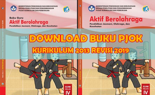Download Buku PJOK Kelas 4 SD K13 Revisi 2019 Buku Guru Buku Siswa
