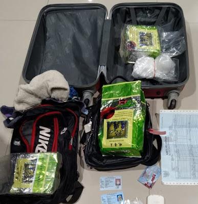 Teh China Berisi 3 Kg  Sabu dari Malaysia, Berhasil Diamankan Polisi