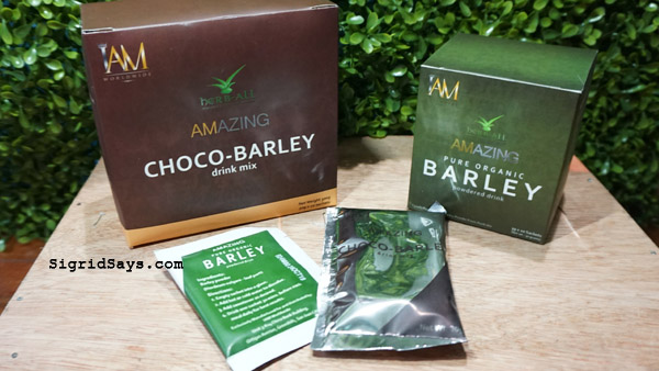 health benefits of barley - IAM Amazing pure barley and choco-barley