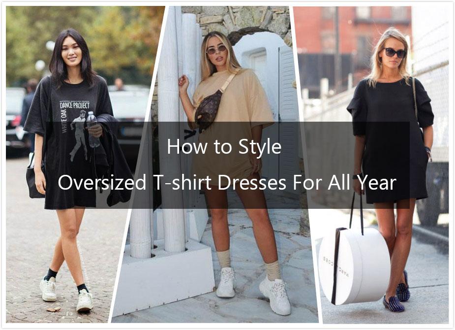fashion t shirt dress