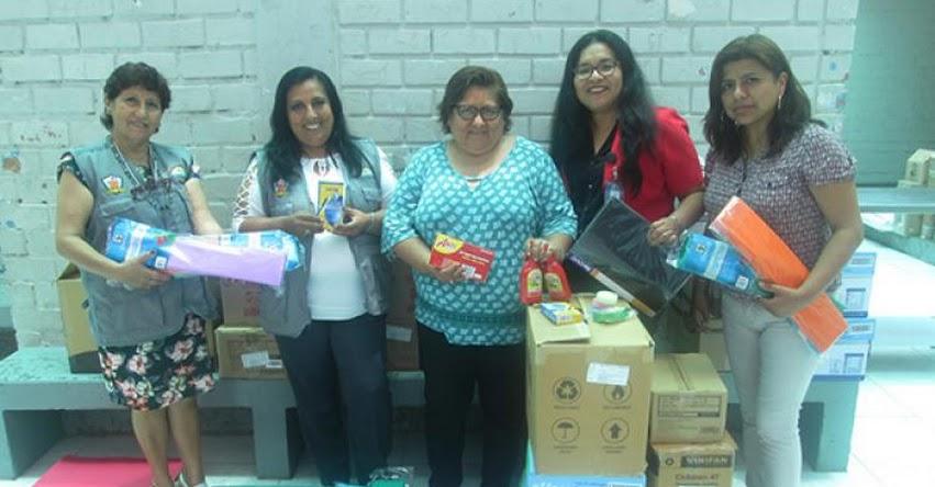 DRE Callao reparte kits educativos en Colegios de la Modalidad Especial - www.drec.gob.pe