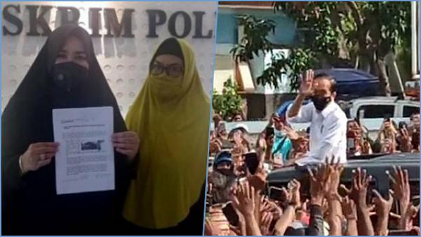 Laporan Kerumunan Jokowi Ditolak, Munarman: Terbukti Hukum Hanya untuk Pengkritik Rezim