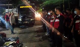 Kasat Sabhara Polrestabes Makassar Pimpin Langsung  Apel Konsilidasi