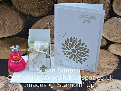 Stampin' Up! UK Independent Demonstrator Susan Simpson, Craftyduckydoodah!, Customer thank you gift February 2017, Supplies available 24/7,